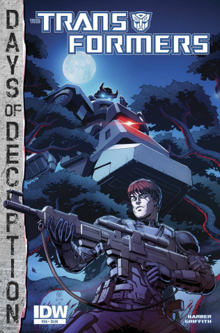 The Transformers #36 (Subscription Cover)