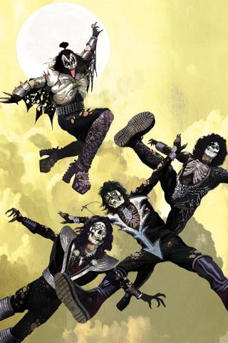 KISS: Zombies #1 (Suydam Virgin Cover)