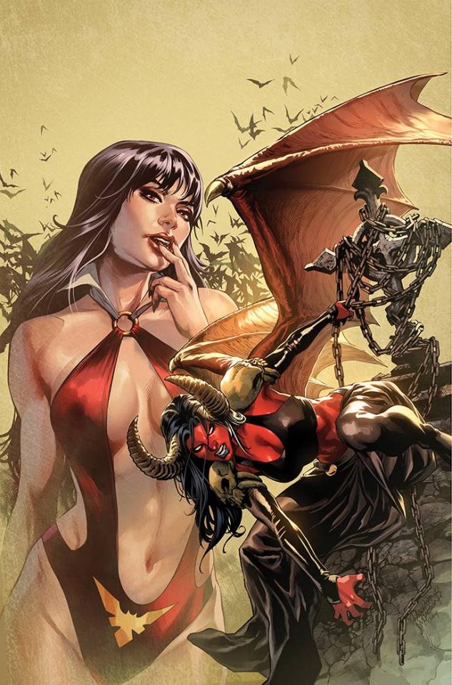 Vampirella vs. Purgatori #4 (10 Copy Pagulayan Virgin Cover)