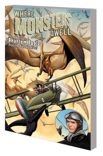 Where Monsters Dwell: The Phantom Eagle Flies the Savage Skies
