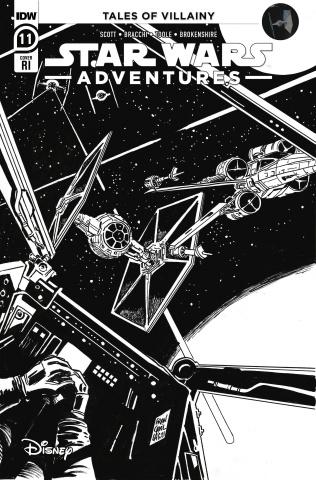 Star Wars Adventures #11 (10 Copy Francavilla Cover)