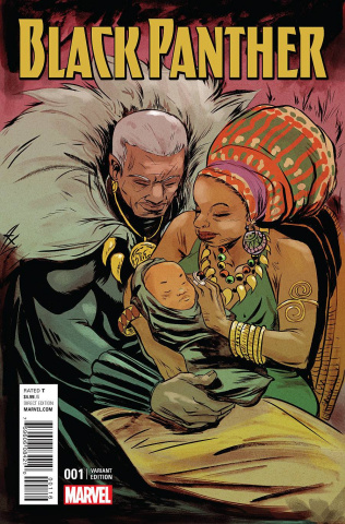 Black Panther #1 (Greene Connect A Cover)