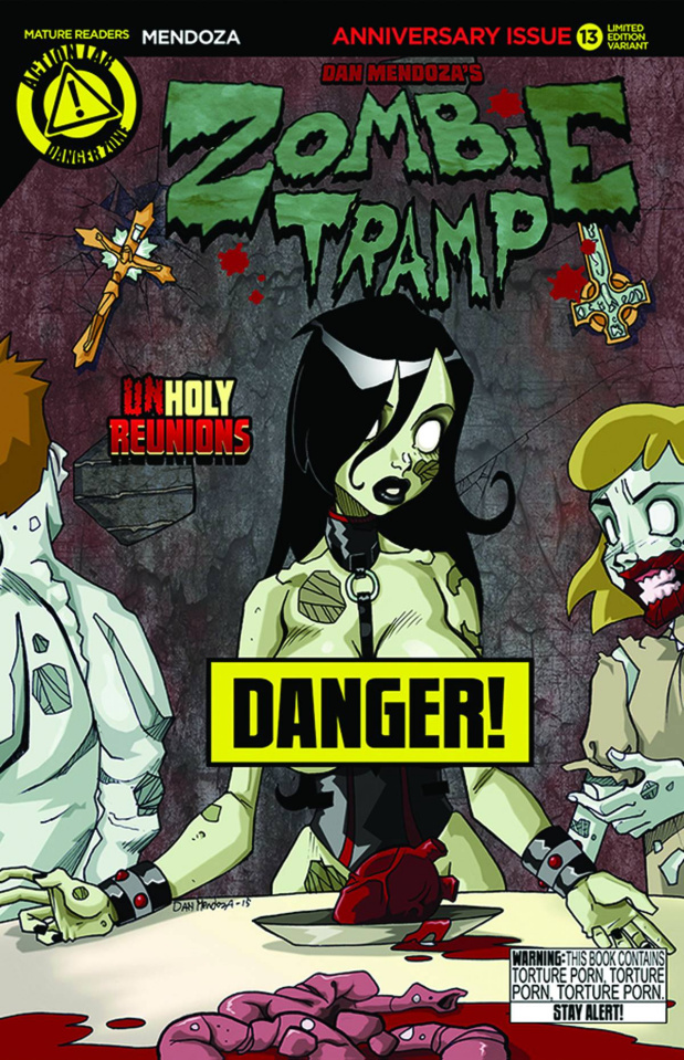 Zombie Tramp #13 (Risque Cover)