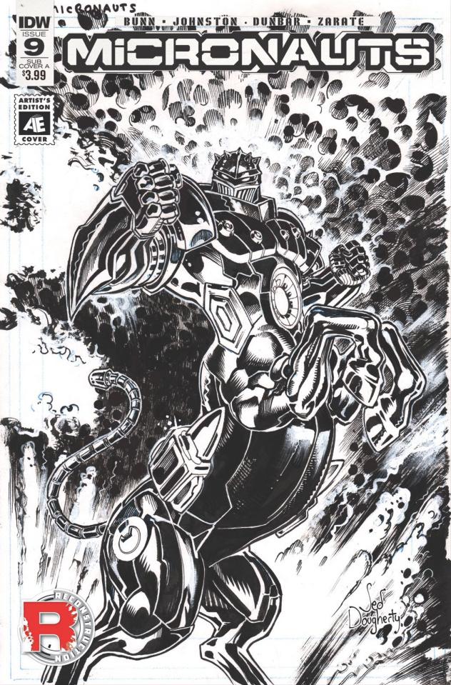Micronauts #9 (Subscription Cover)