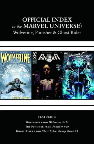 The Official Index to the Marvel Universe #6: Wolverine, Punisher & Ghost Rider