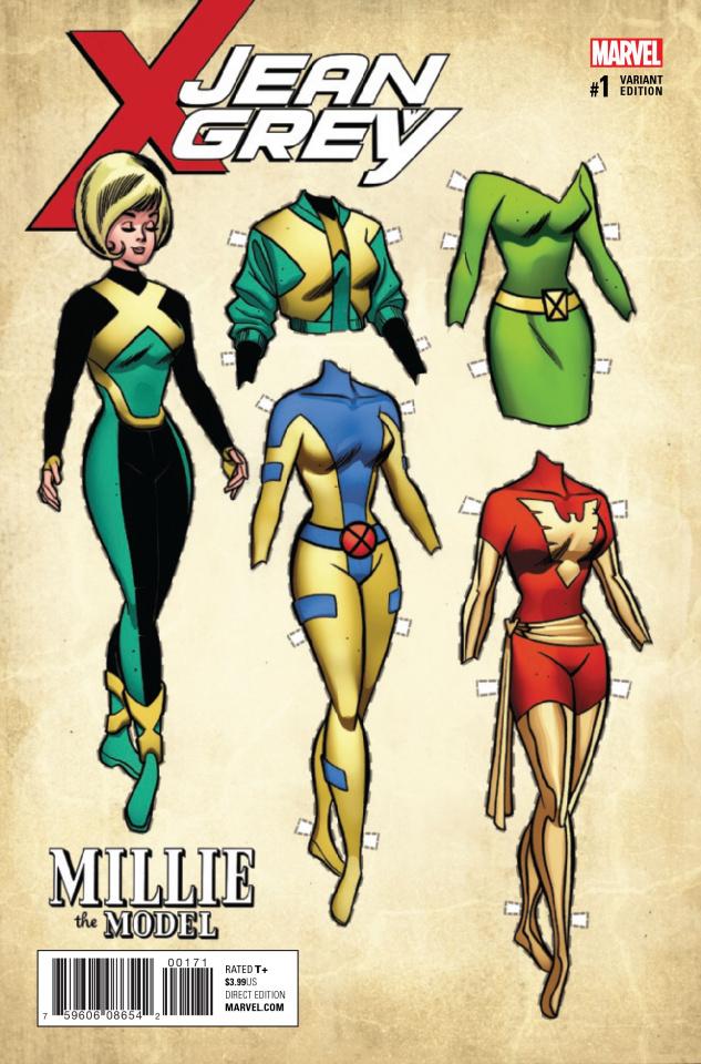 Jean Grey #1 (Williams Millie Phoenix Cover)