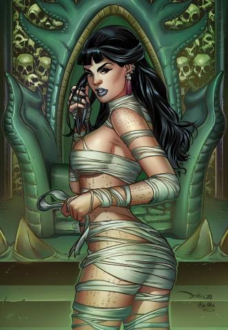 Van Helsing vs. The League of Monsters #6 (Santacruz Cover)