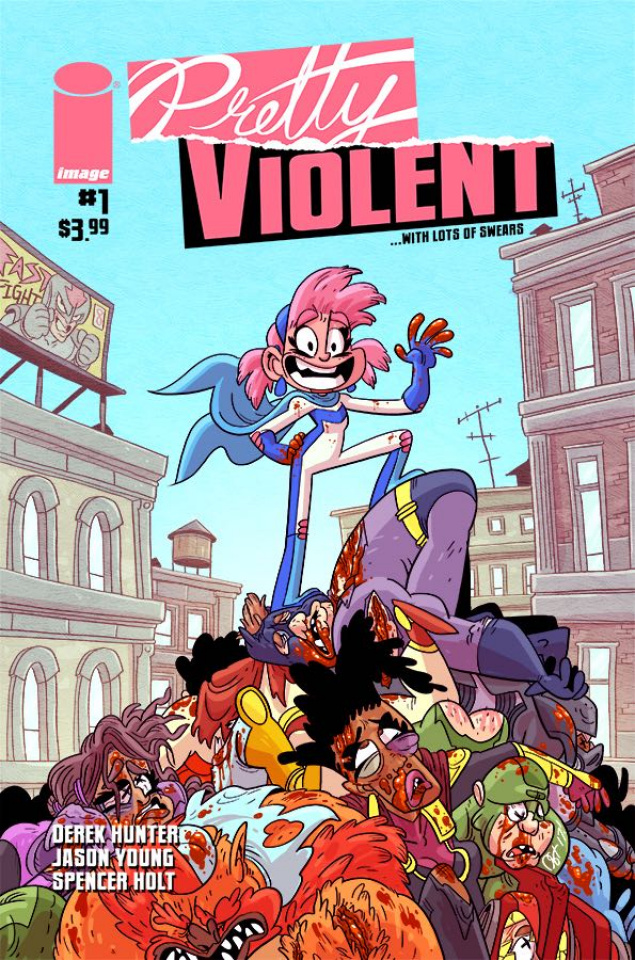 Pretty Violent #1 (Hunter Cover)