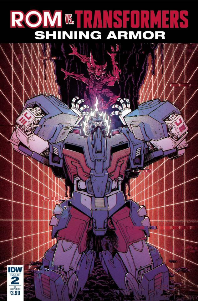 ROM vs. The Transformers: Shining Armor #2 (Roche Cover)