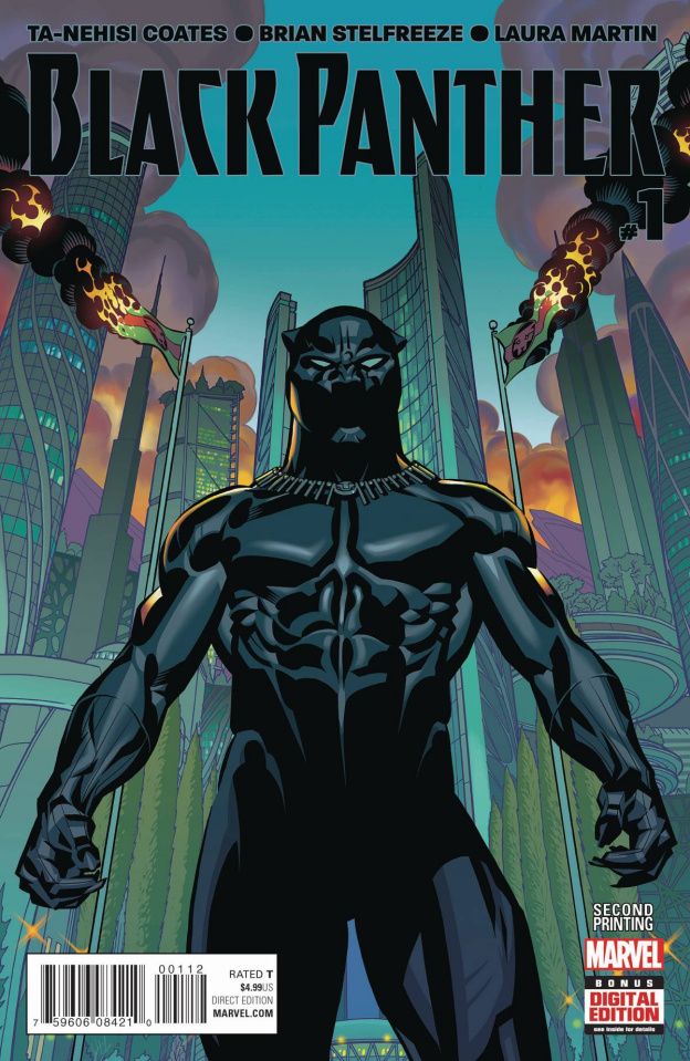 Black Panther #1 (Stelfreeze 2nd Printing)