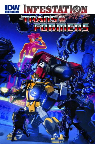 Transformers: Infestation #1