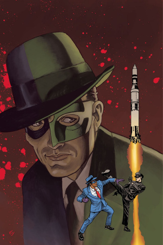 The Green Hornet '66 Meets The Spirit #1 (25 Copy Cover)