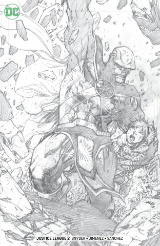 Justice League #2 (Jim Lee Pencil Cover)