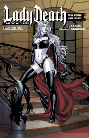 Lady Death: Apocalypse #3 (CGC Numbered Edition)