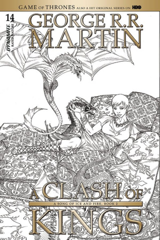 A Game of Thrones: A Clash of Kings #14 (10 Copy Miller B&W Cover)