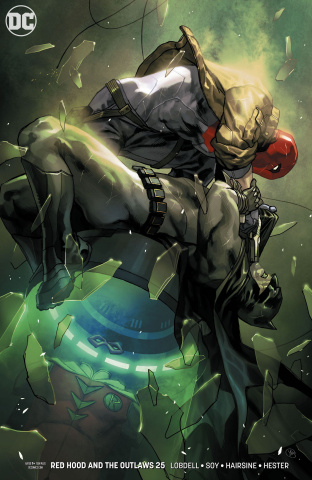 Red Hood and The Outlaws #25 (Variant Cover)