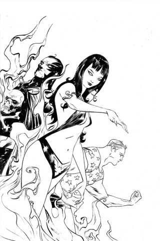 Vampirella: The Dark Powers #2 (50 Copy Lee B&W Virgin Cover)