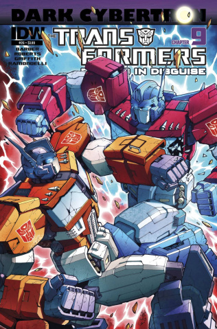 The Transformers: Robots in Disguise #26: Dark Cybertron, Part 9