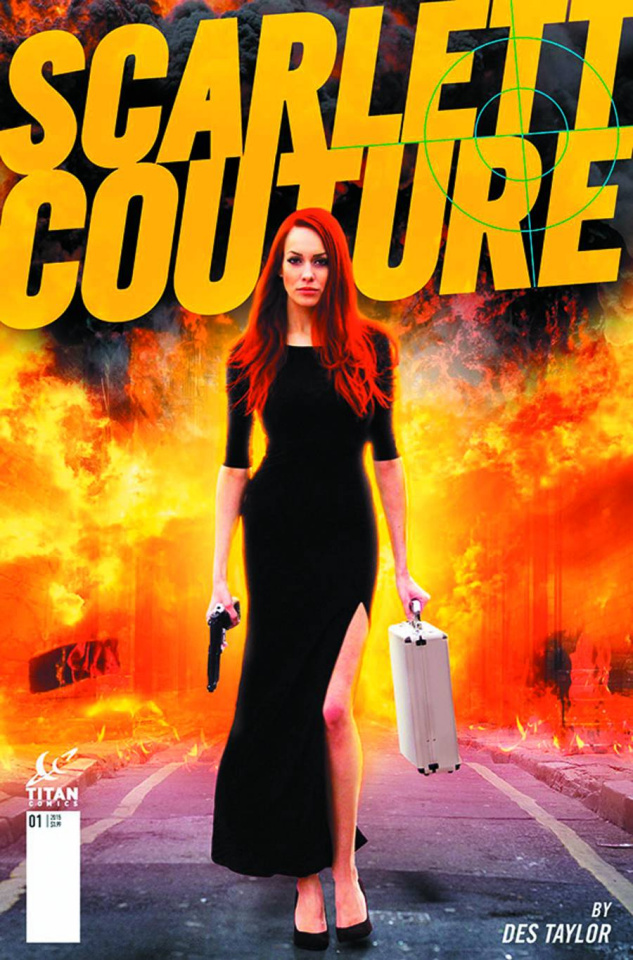 Scarlett Couture #1 (Subscription Photo Cover)