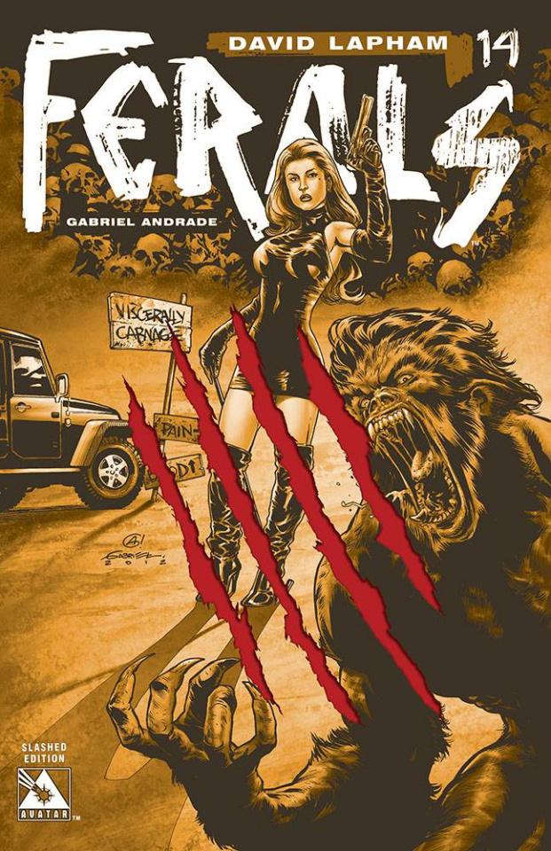 Ferals #14 (Slashed Cover)