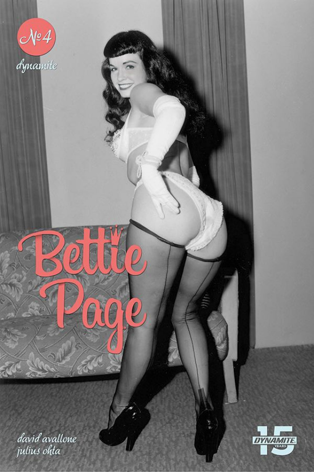 Bettie Page: Unbound #4 (Photo Cover)