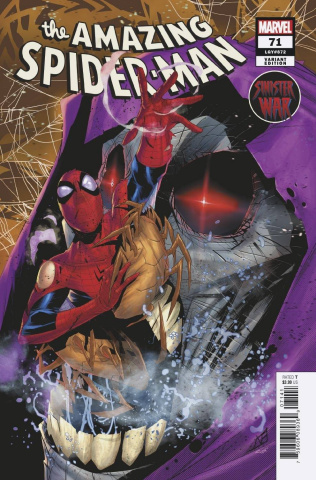 The Amazing Spider-Man #71 (Vicentini Cover)