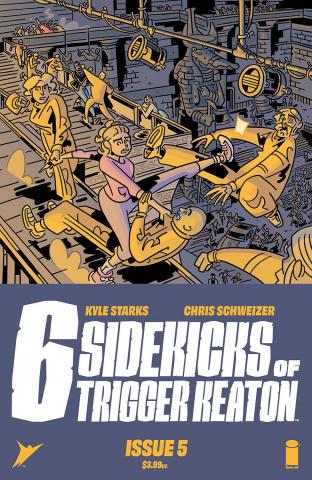 The Six Sidekicks of Trigger Keaton #5 (Schweizer Cover)