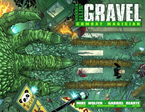 Gravel: Combat Magician #2 (Wrap Cover)