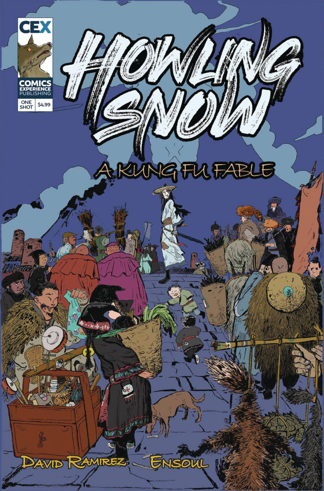 Howling Snow: A Kung Fu Fable #1 (Ensoul Cover)