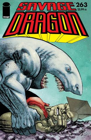 Savage Dragon #263 (Larsen Cover)