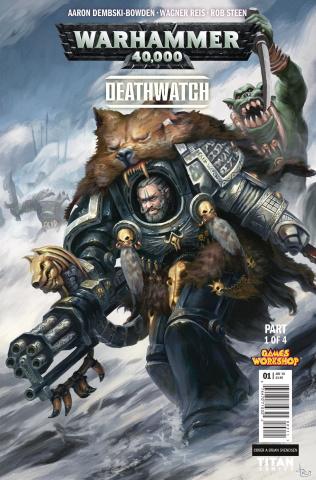 Warhammer 40,000: Deathwatch #1 (Svendsen Cover)
