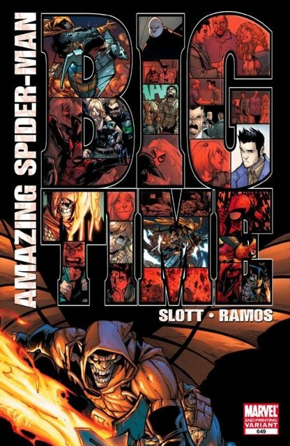 The Amazing Spider-Man #649 (2nd Printing Ramos Cover)
