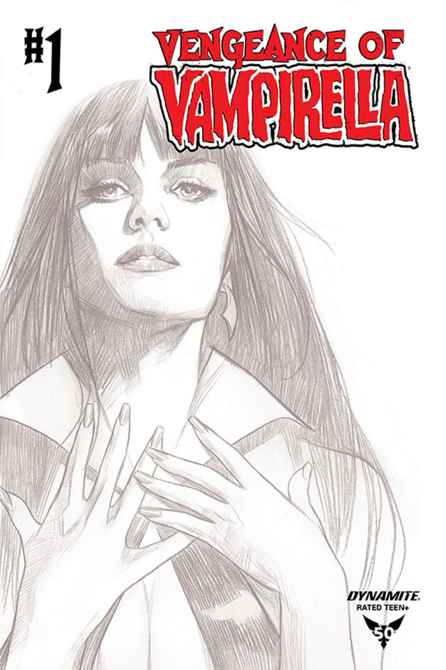 Vengeance of Vampirella #1 (20 Copy Oliver B&W Cover)