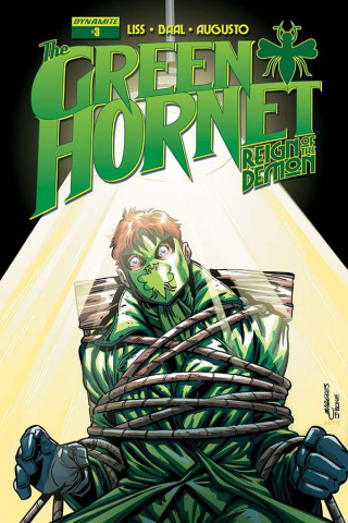 The Green Hornet: Reign of the Demon #3 (Marques Cover)