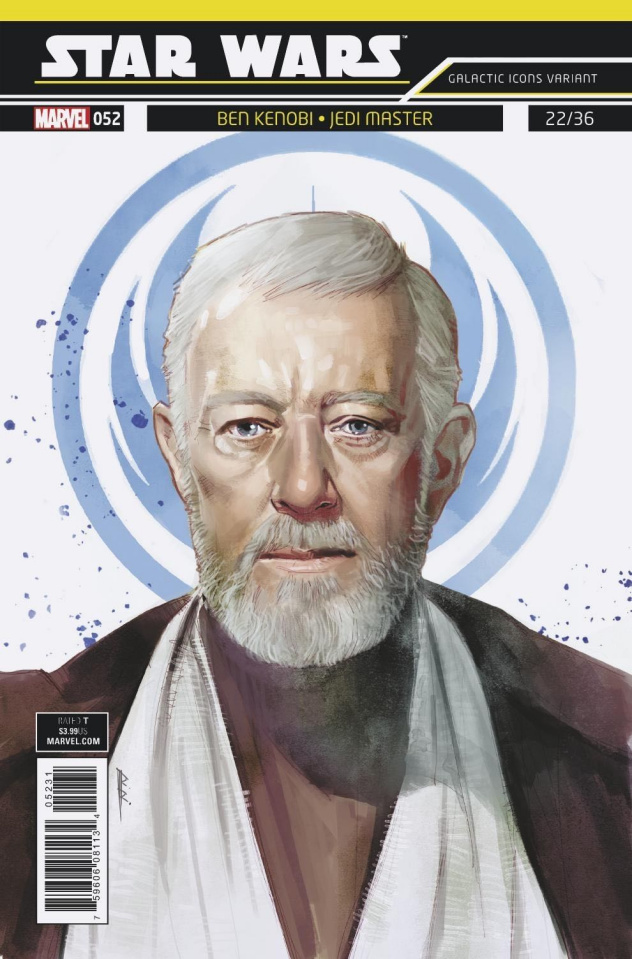 Star Wars #52 (Reis Galactic Icon Cover)