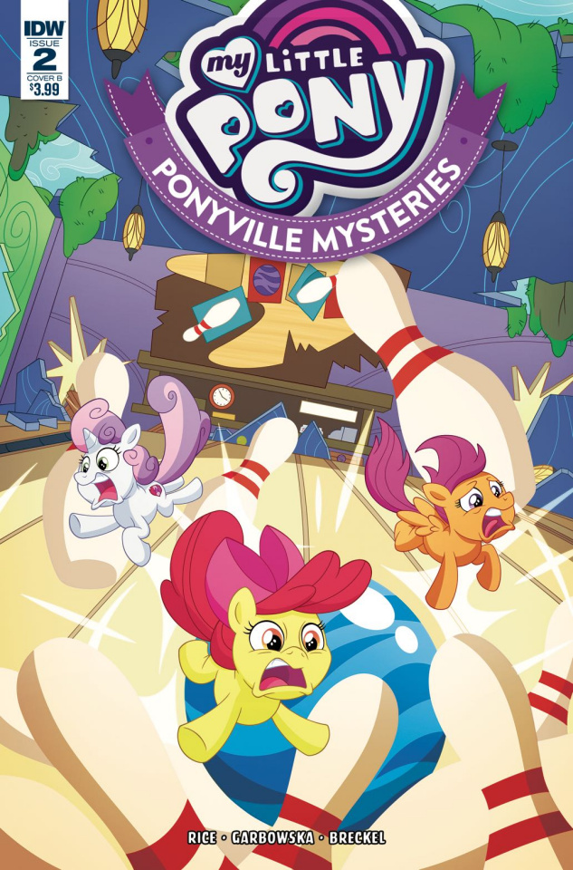 My Little Pony: Ponyville Mysteries #2 (Murphy Cover)