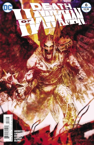 Death of Hawkman #6 (Variant Cover)