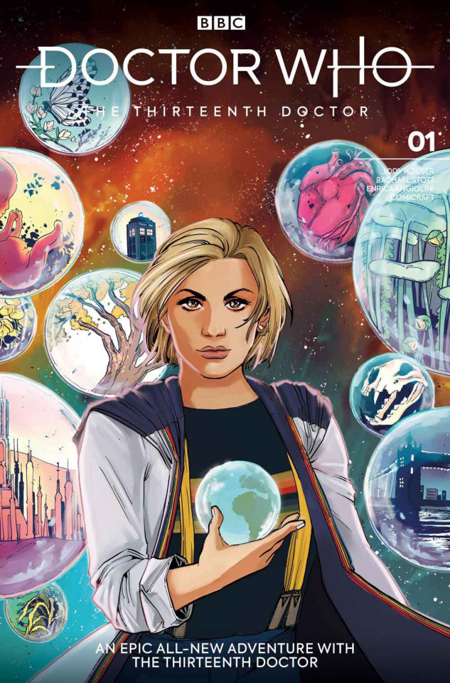 Doctor Who: The Thirteenth Doctor #1 (Anwar Cover)