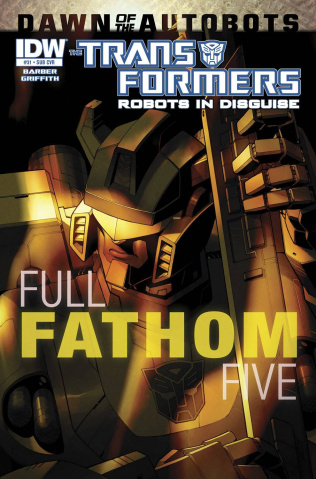 The Transformers: Robots in Disguise #31 (Subscription Cover)