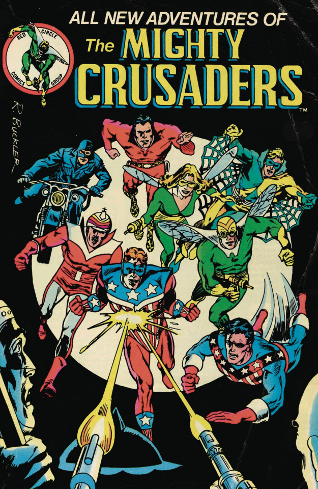 The Mighty Crusaders #4 (Red Circle Cover)