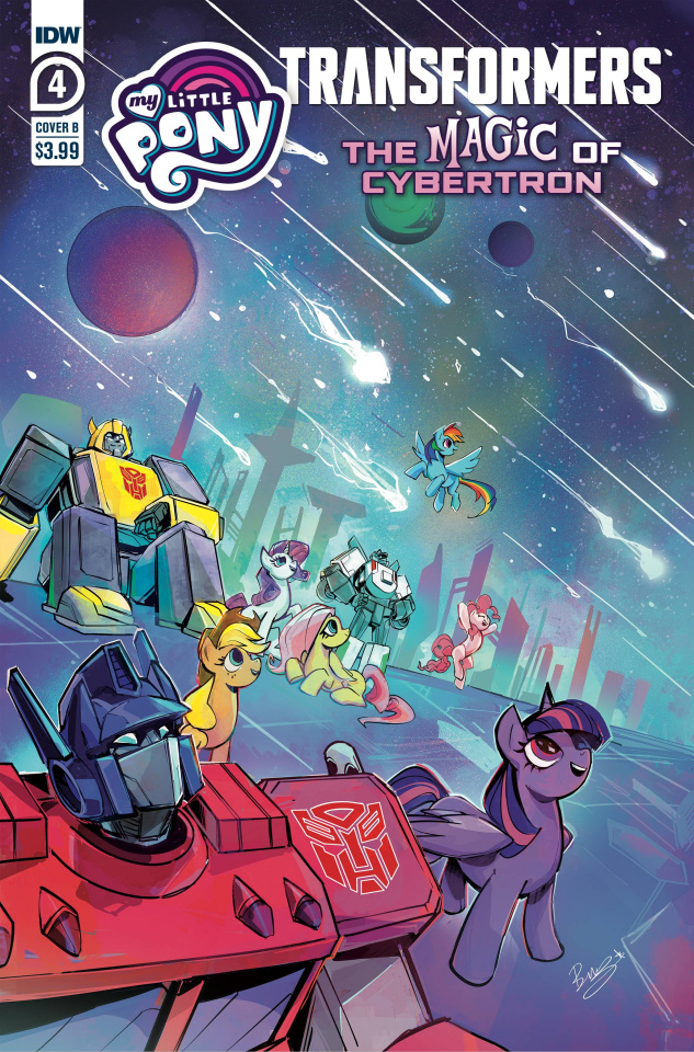 My Little Pony / The Transformers II #4 (Bethany McGuire-Smith Cover)