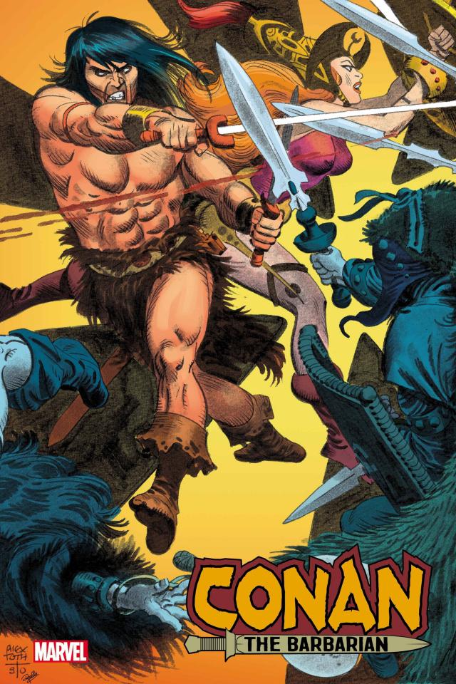 Conan the Barbarian #25 (Toth Hidden Gem Cover)