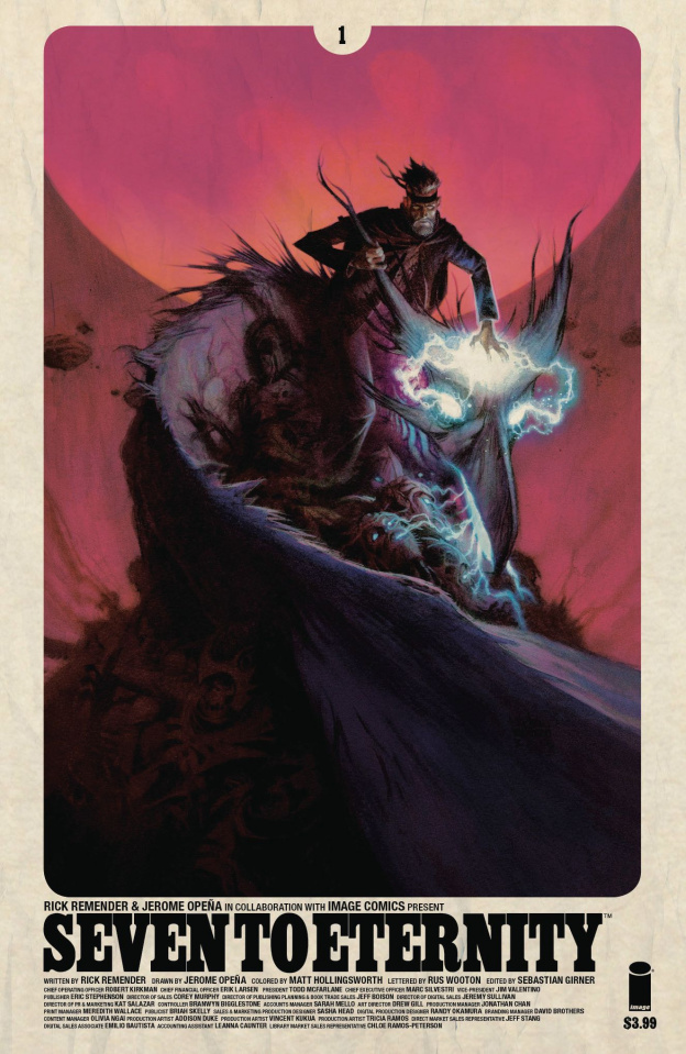 Seven to Eternity #1 (Robinson Cover)