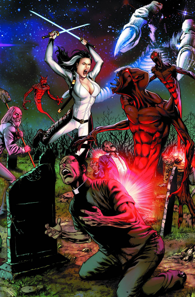 Grimm Fairy Tales: Demons Unseen #1 (Spay Cover)