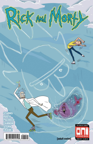 Rick and Morty #47 (Vaughn Cover)