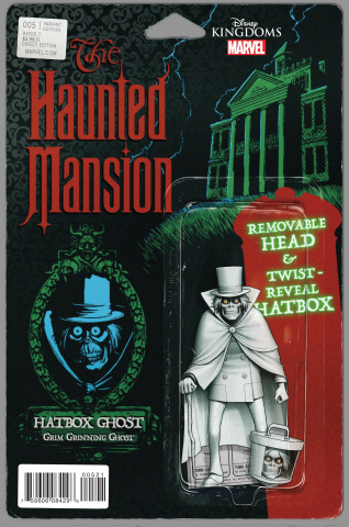 The Haunted Mansion #5 (Christopher Action Figure Cover)