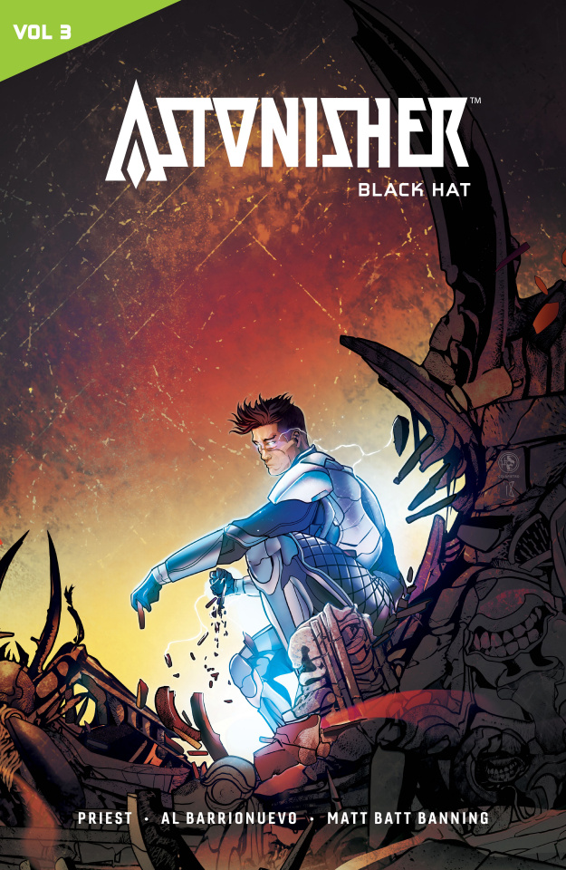Catalyst Prime: Astonisher Vol. 3: Black Hat
