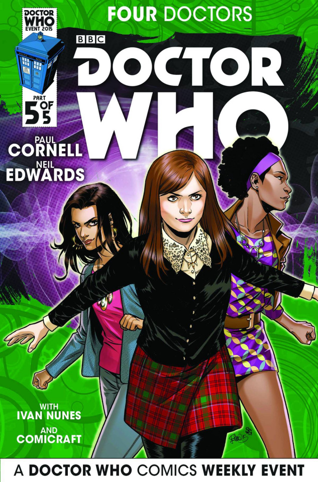 Doctor Who: Four Doctors #5 (25 Copy Incentive Cover)