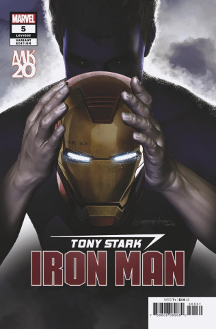 Tony Stark: Iron Man #5 (Horn MKXX Cover)