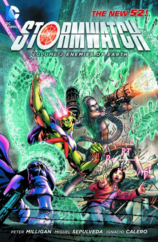Stormwatch Vol. 2: Enemies of the Earth